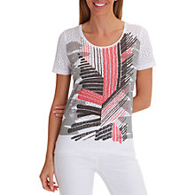 Buy Betty Barclay Graphic Print T-Shirt Online at johnlewis.com