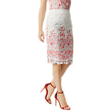 Buy Damsel in a dress Amily Skirt, Raspberry/Multi Online at johnlewis.com
