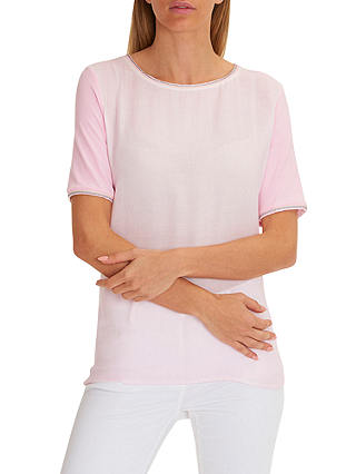 Buy Betty Barclay Short Sleeved Top, Orchid Ice, 8 Online at johnlewis.com