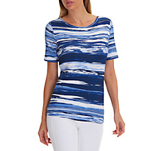 Buy Betty Barclay Striped T-Shirt, Blue Online at johnlewis.com