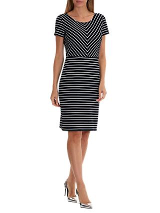 cd3c6df421c Betty Barclay Contrast Stripe Shift Dress