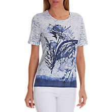 Buy Betty Barclay Embellished T-Shirt, Blue Online at johnlewis.com