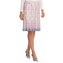 Buy Betty Barclay Snake Print Skirt, Rosé/Grey Online at johnlewis.com