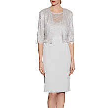 Buy Gina Bacconi Crepe And Stretch Lace Dress And Jacket Online at johnlewis.com
