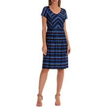Buy Betty Barclay Striped Shift Dress, Blue Online at johnlewis.com