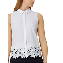 Buy Damsel in a dress Malibu Shirt, White Online at johnlewis.com