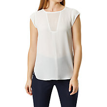 Buy Damsel in a dress Jolla Top, Cream Online at johnlewis.com