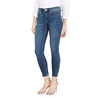 Oasis Isabella Skinny Cropped Jeans, Denim