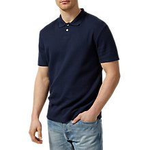 Buy Selected Homme Louis Polo Shirt, Dark Sapphire Online at johnlewis.com