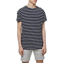 Buy Selected Homme Pure Short Sleeve Striped T-Shirt Online at johnlewis.com