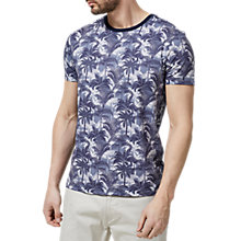 Buy Selected Homme Twomax Short Sleeve T-Shirt, Dark Sapphire Online at johnlewis.com