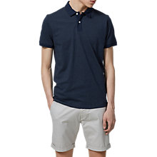 Buy Selected Homme Summer Sapphire Polo Shirt, Dark Sapphire Online at johnlewis.com