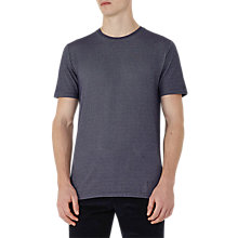 Buy Reiss Shine Honeycomb Weave T-Shirt Online at johnlewis.com