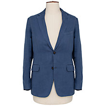 Buy Thomas Pink Shaw Linen Blazer, Blue Online at johnlewis.com