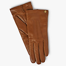 Buy Mulberry Soft Nappa Leather Gloves Online at johnlewis.com