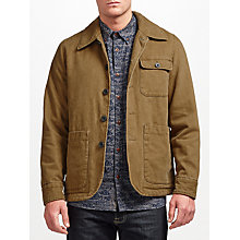 Buy JOHN LEWIS & Co. Workwear Jacket, Brown Online at johnlewis.com