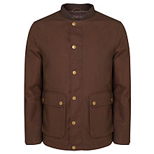 Buy JOHN LEWIS & Co. Baseball Collar Jacket, Raisin Online at johnlewis.com