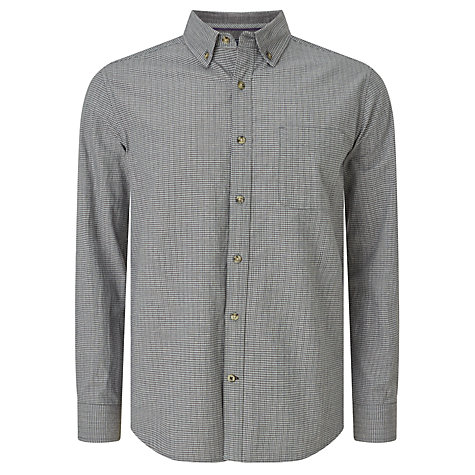 Buy John Lewis Slub Micro Check Shirt Online at johnlewis.com
