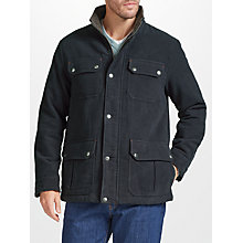 Buy John Lewis Moleskin Jacket, Charcoal Online at johnlewis.com