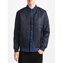 Buy Kin by John Lewis MA-1 Bomber Jacket, Navy Online at johnlewis.com