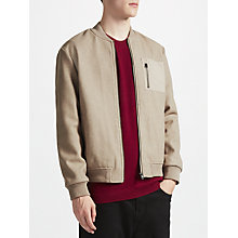 Buy Kin by John Lewis Wool Trucker Bomber Jacket Online at johnlewis.com