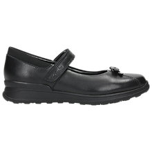 Buy Clarks Children's Gloforms Mariel Wish Mary Jane Shoes, Black Leather Online at johnlewis.com