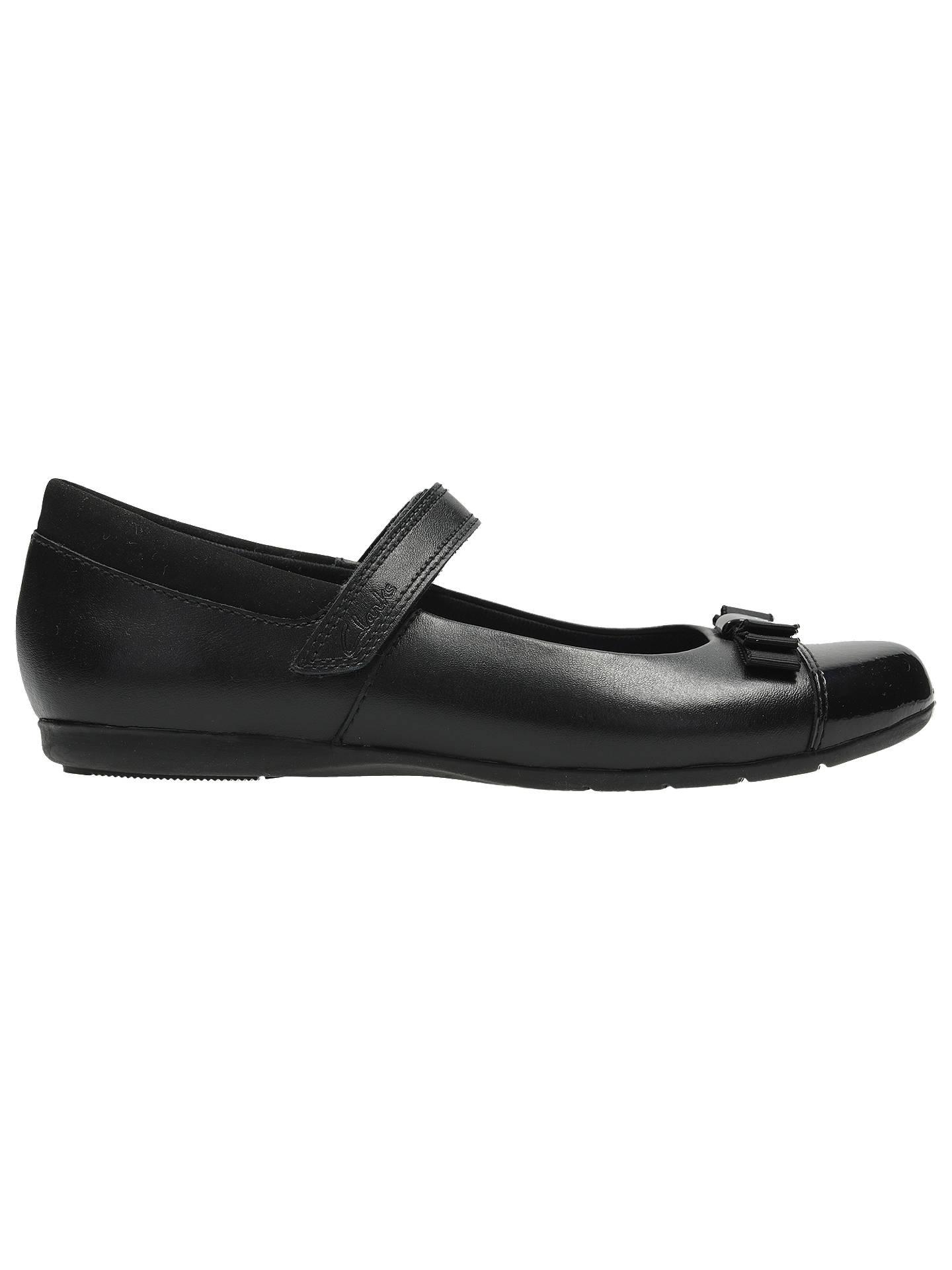 Clarks Children's Dance Shout Shoes, Black at John Lewis & Partners