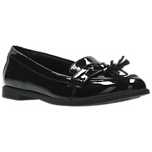 Buy Clarks Children's Preppy Edge Shoes, Black Online at johnlewis.com