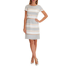 Buy Betty Barclay Striped Satin Shift Dress Online at johnlewis.com