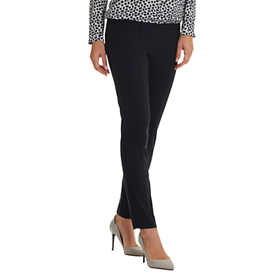 Betty Barclay Pull On Stretch Trousers, Dark Sky