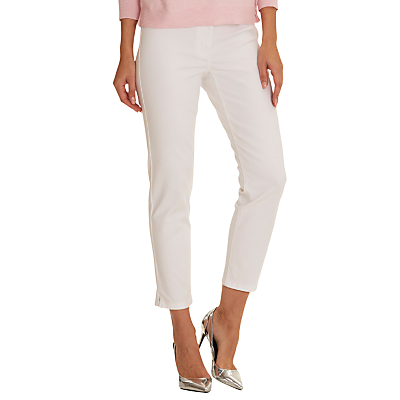 Betty Barclay Cropped Slim Fit Jeans, Bright White