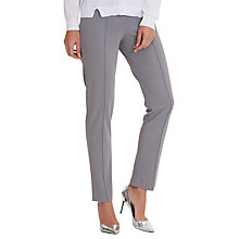Buy Betty Barclay Slim Fit Stretch Tailored Trousers, Titanium Online at johnlewis.com