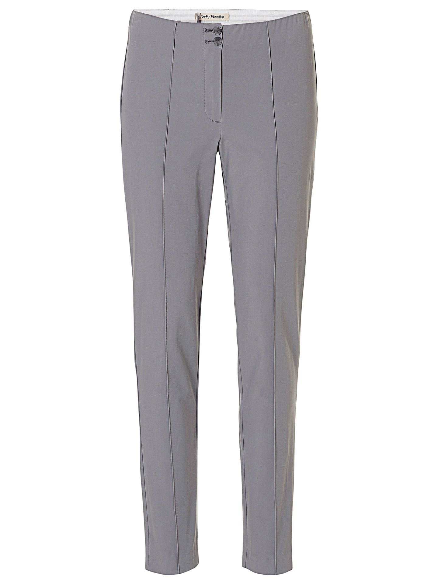 BuyBetty Barclay Slim Fit Stretch Tailored Trousers, Titanium, 10 Online at johnlewis.com