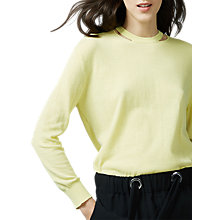 Buy Warehouse Split Crew Neck Jumper Online at johnlewis.com