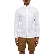 Buy Ted Baker Laavato Linen Blend Shirt Online at johnlewis.com