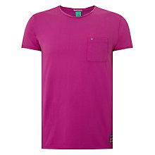 Buy Scotch & Soda Garment Dyed Twisted Crew Neck T-Shirt Online at johnlewis.com