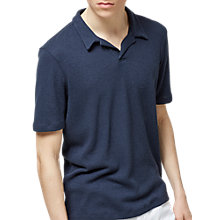Buy Selected Homme Freddy Polo Shirt, Dark Sapphire Online at johnlewis.com
