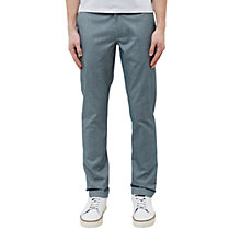 Buy Ted Baker Curlong Slim Fit Oxford Trousers, Green Online at johnlewis.com
