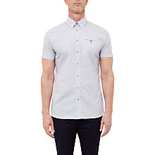 Buy Ted Baker T for Tall Rinaltt Shirt, White Online at johnlewis.com