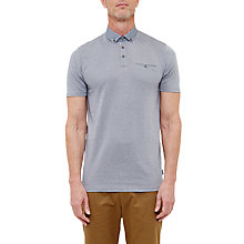 Buy Ted Baker T for Tall Supertt Geo Print Collar Polo Shirt Online at johnlewis.com