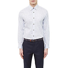 Buy Ted Baker Twesta Faded Floral Print Cotton Shirt Online at johnlewis.com