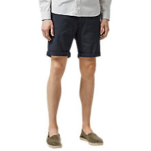 Buy Selected Homme Paris Micro Dot Chino Shorts, Dark Sapphire Online at johnlewis.com