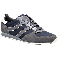 Buy HUGO BOSS Orlando Trainers, Dark Grey Online at johnlewis.com