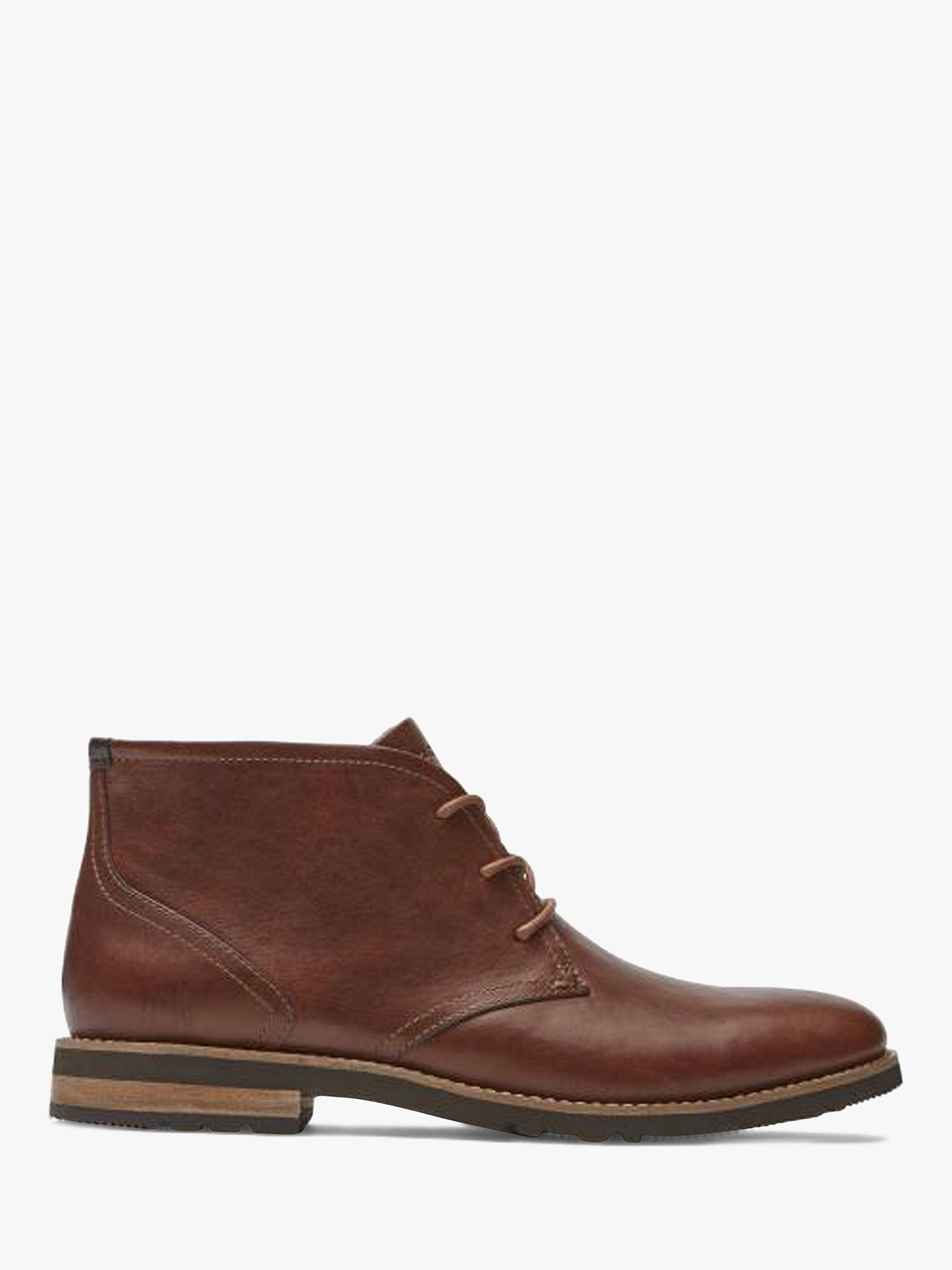 BuyRockport Leather Chukka Boots, Tan, 7 Online at johnlewis.com