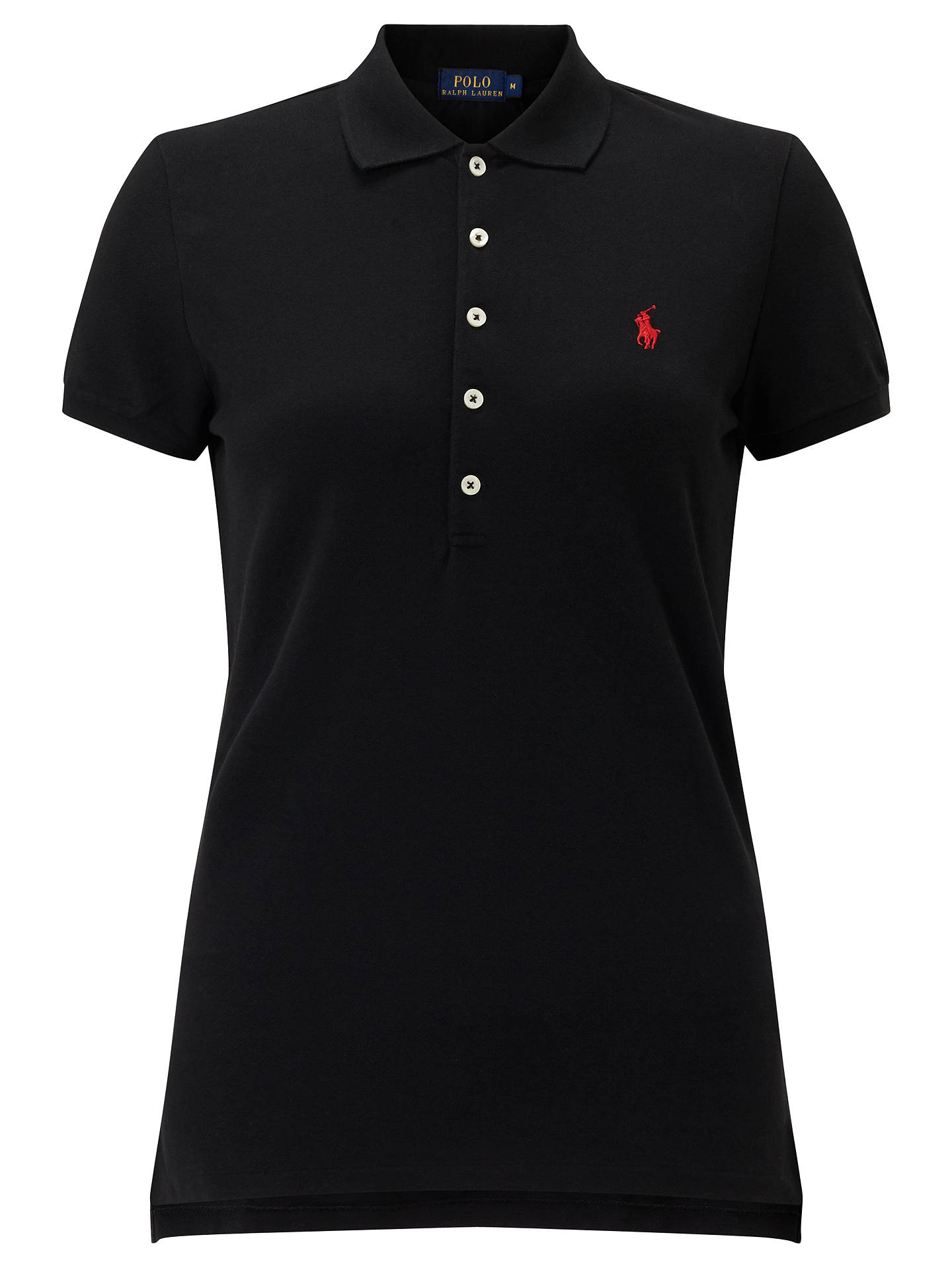4c877d7d5 Polo Ralph Lauren Julie Skinny Fit Stretch Polo Shirt at John Lewis ...