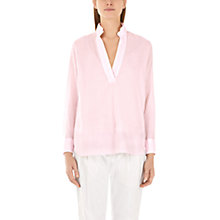 Buy Marc Cain Cross Back Blouse, Pink Online at johnlewis.com