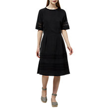 Buy Selected Femme Charline Lace Dress, Black Online at johnlewis.com