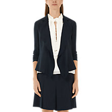 Buy Marc Cain Feminine Blazer, Navy Online at johnlewis.com