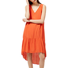 Buy Selected Femme Madelin Dress, Mandarin Red Online at johnlewis.com