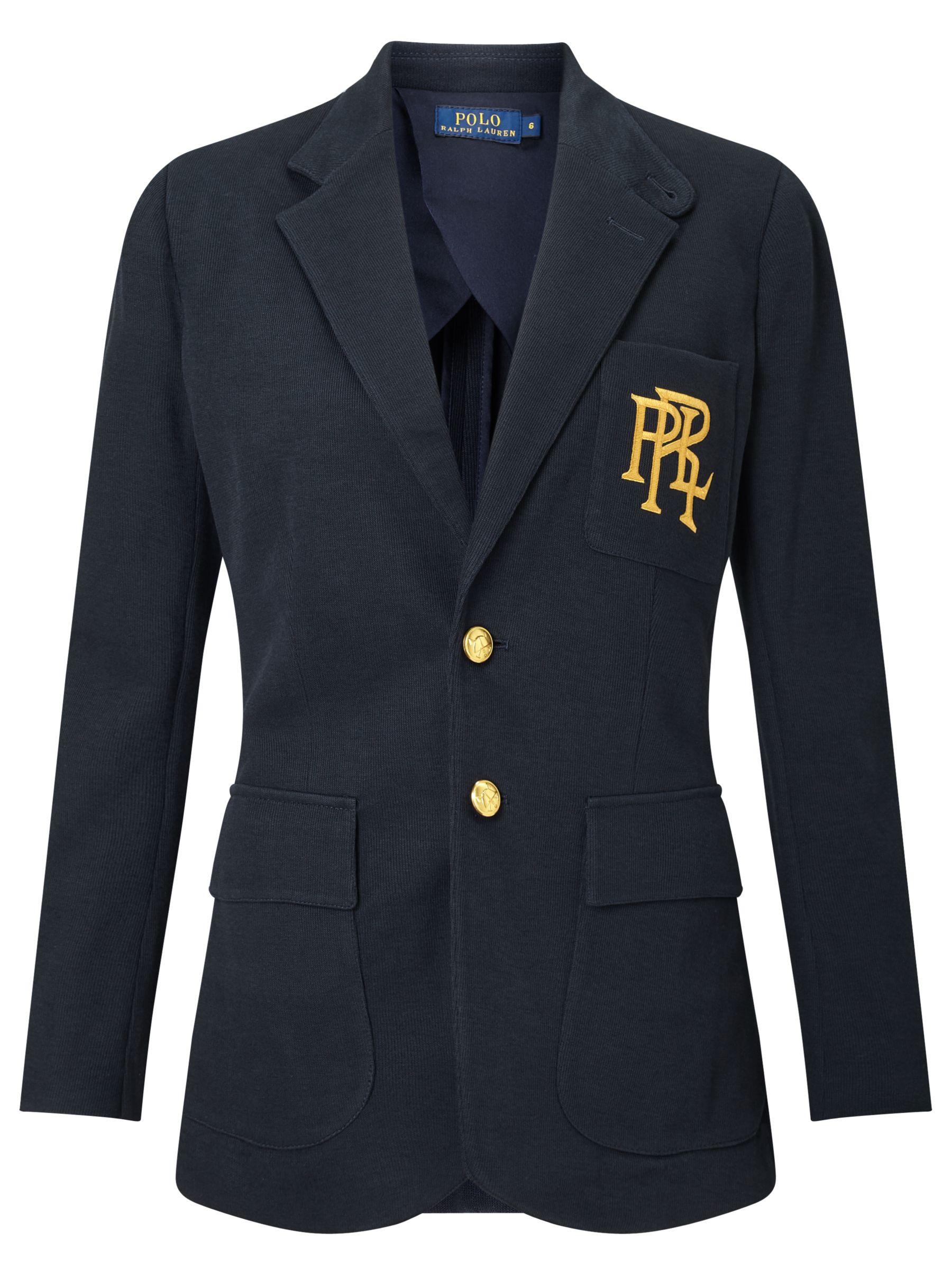 45f99932 Polo Ralph Lauren Knit Cotton Blazer at John Lewis & Partners